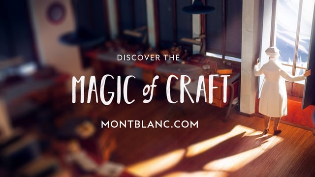 "Montblanc ""The Magic of Craft"" 2016"