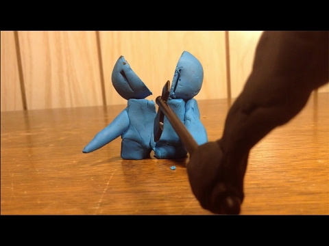 Claymation Fight