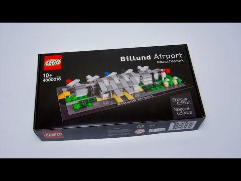 Lego Billund Airport set built in Stop Motion