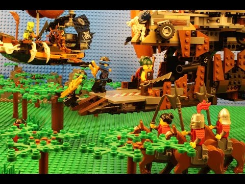 Lego NINJAGO Stop Motion The Promised Blade Episode 1