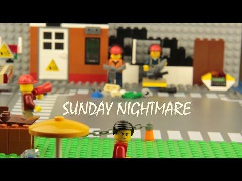 SUNDAY NIGHTMARE - LEGO STOP MOTION