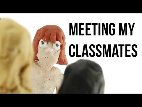 Meeting my classmates-Art School | Animation