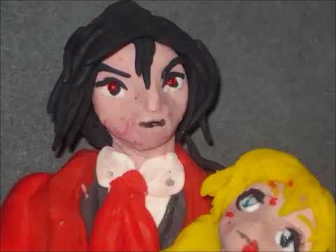 Hellsing Anime, Alucard and Seras (stop motion)