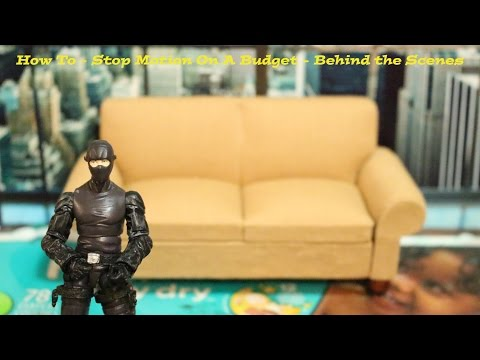How To - Stop Motion On A Budget - Behind The Scenes