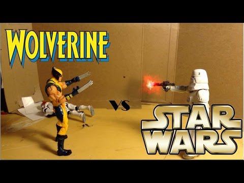 Wolverine VS Star Wars