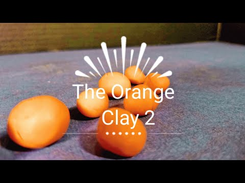 The Orange Clay 2| Stop motion
