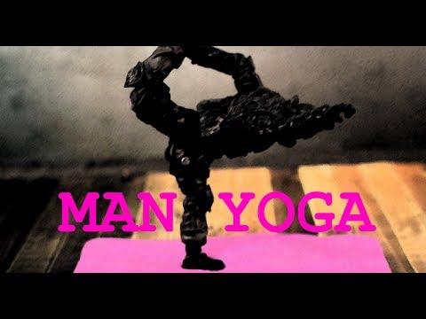 Stop Motion Animation - Man Yoga - Revised Edition