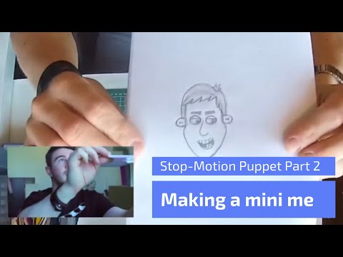 Making a Stop Motion Puppet Part 2