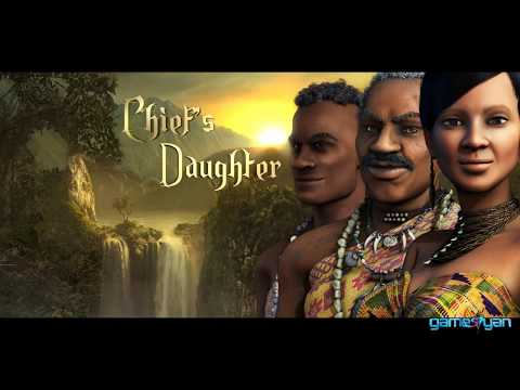 Chief's Daughter - 3D Animation Cartoon Cinematic Movie Trailer - Africa