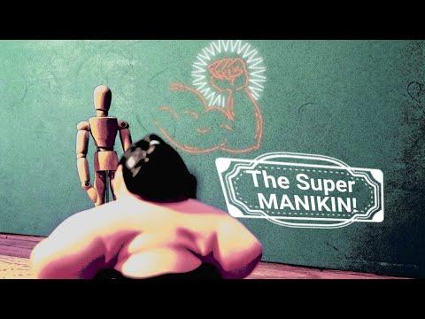 Super MANIKIN  | Stop motion