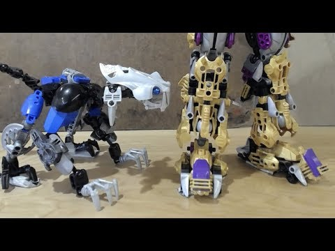 HELLO HUMAN (Bionicle stop motion)