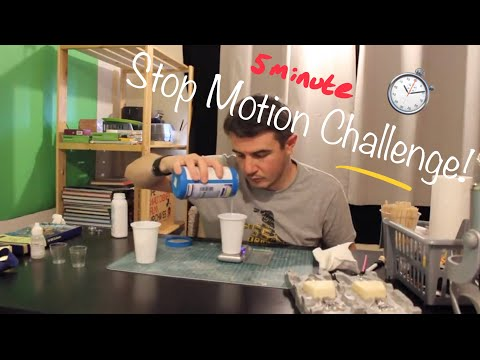 #stopmotionchallenge 5 Minute Stop Motion Challenge