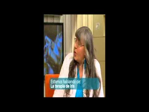 Entrevista a Adamelia Rodriguez con Los del siete Tema Diagnostico por el Iris