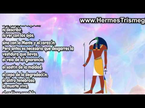 """""""Hermes Trismegisto"""" - Toth - En el Corpus Hermeticum"""