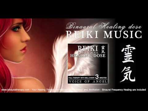 REIKI MUSIC HEALING: Voz de Ángel (Terapia 3D Binaural con campana cada  3 minutos)