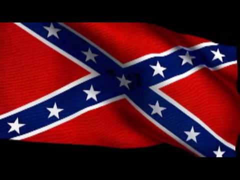 Dixie with Confederate Flag Waving