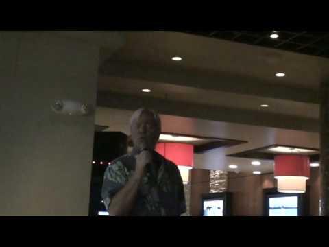 """IF"" (original Bread song)John Hunter Phillips live karaoke Honolulu, Hawaii April 2008"