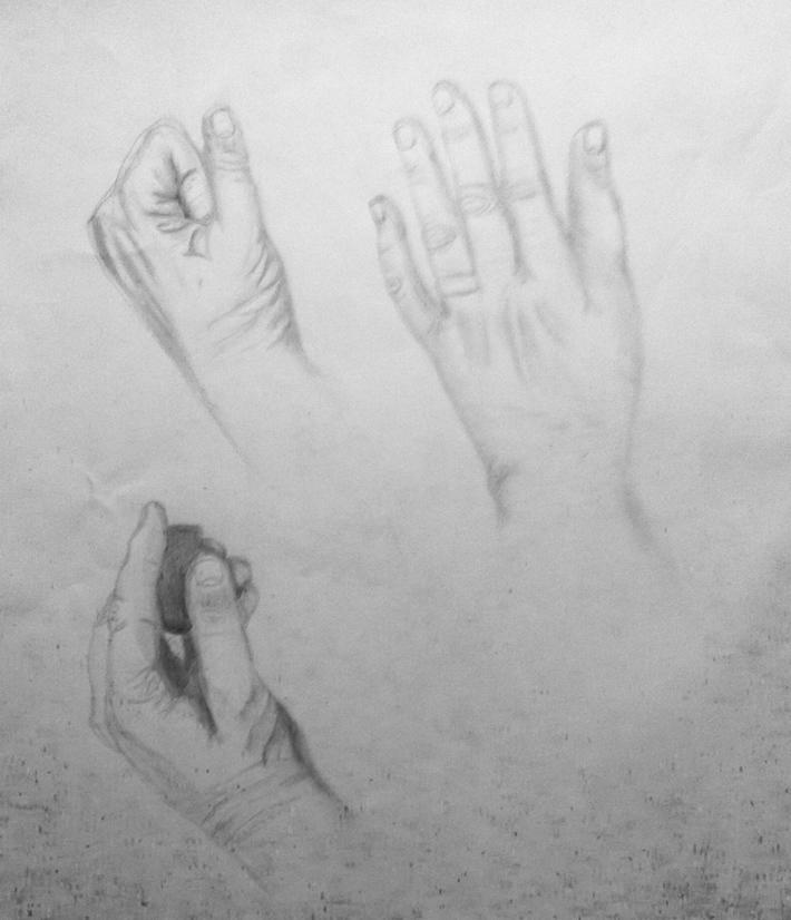 My Hand Study