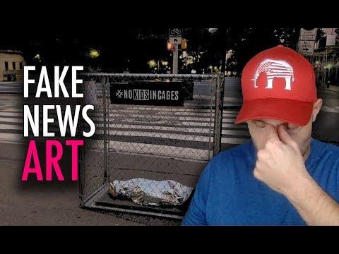 Fake News Art Planted All Around New York City