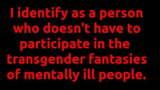 I Identify...