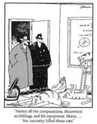 Curiosity Gary Larson Far Side