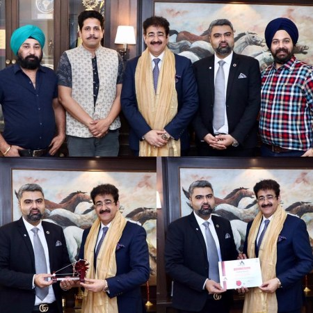 Sandeep Marwah Patron to Asia Africa Chamber of Commerce