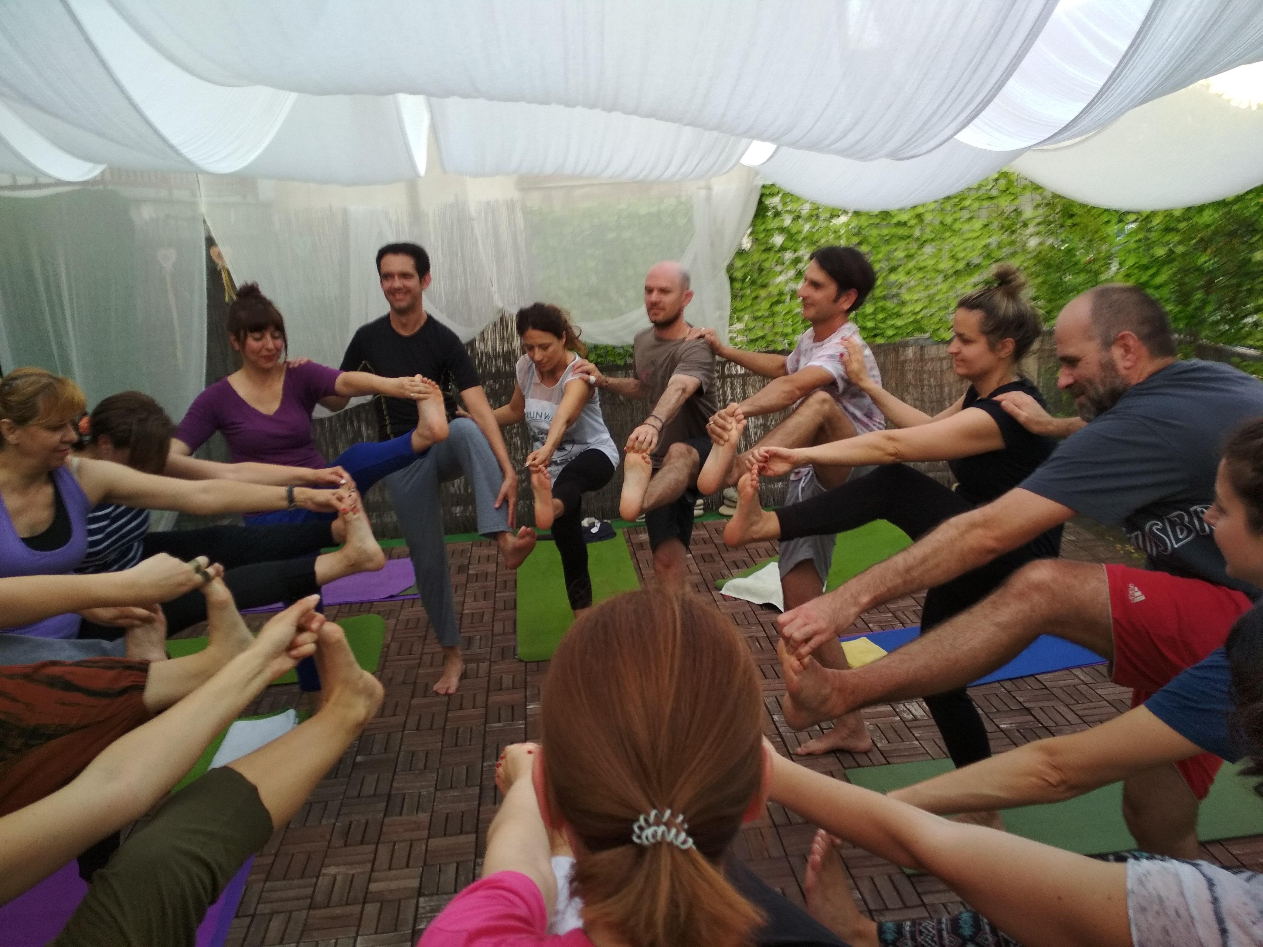 yoga balcony
