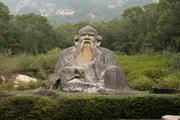 statue of lao tzu in quanzhou