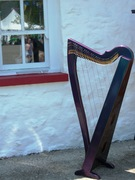 Harp at the cottage