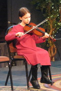 Fiddle student