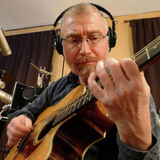 Chuck Donnelly in the studio