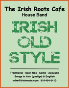 Irish Old Style band poster