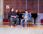 Liam, Keegan, Steve Lunchtim concert UL