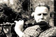 Michael Walsh flute player. 2015 by David Kosky