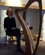 harp made by Pepe Weissgerber
