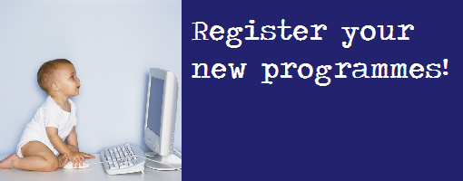 Register a programme