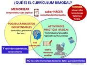 Taller gratuito: iniciación al currículum bimodal