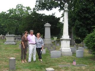 Susan on left with brother Mike and sister Wendy