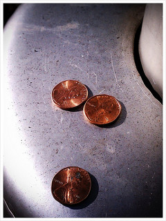 3 pennies (Image via Flickr Creative Commons / agahran