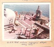 USS Kirk nested OutBoard Prairie at Subic Bay 1975 001