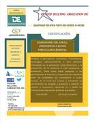 Certificación Dimensiones del Apego y Acoso Preescolar/elemental