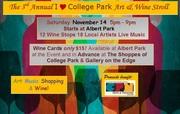 College Park Art & Wine Stroll