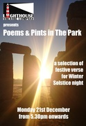 Poems and Pints in The Park Inn