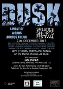 Dusk- Winter Solstice Festival/ Gwyl Cyfnos + Open Mic