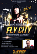 Chinx Drugz & C-class perform in Fashion Show and Concert October 6 at Club Drom