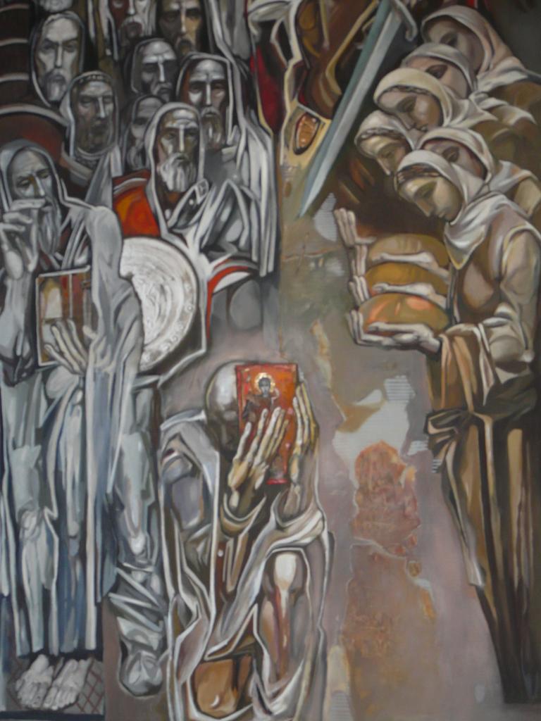 Peintre Contemporain Célèbre Vivant teofan sokerov, une histoire contemporaine (un monstre de la