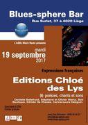 Chloé des Lys et Danielle Bellefroid au Blues-Sphère Bar