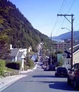 A Typical Juneau Street