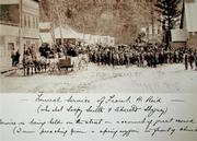 Frank Reid's Funeral Procession