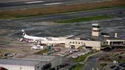Juneau terminal with Alaska jet